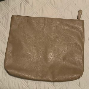 Free People Vegan Leather Clutch Pouch